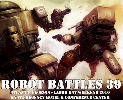 Robot Battles poster
